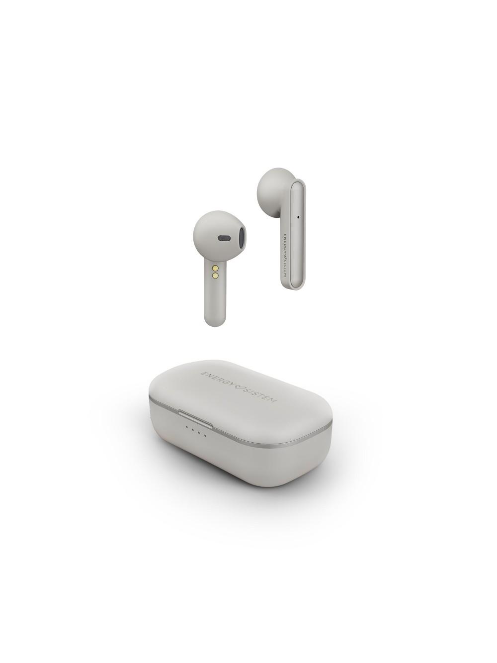 Energy Sistem Earphones Style 3 True Wireless ασύρματα ακουστικά σε ivory χρώμα
